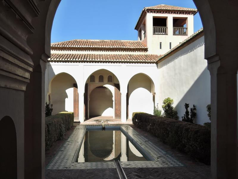 Patio s bazénom (Patio de la Alberca)