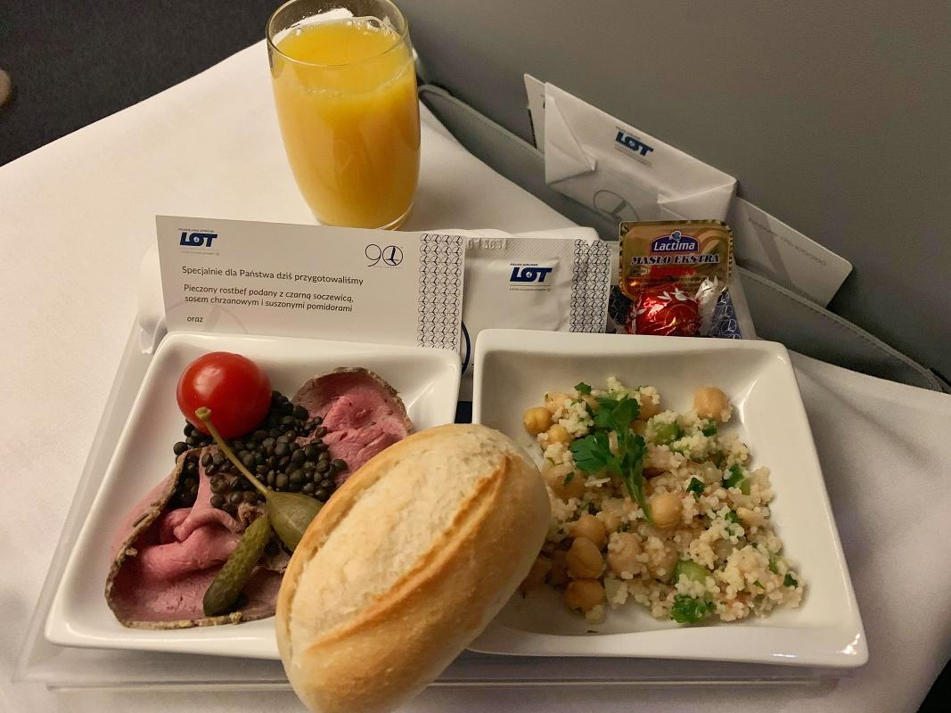Business Class - super večerička s prestieraním!